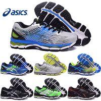 baseball training shoe - Asics Gel Nimbus XVII Men Running Shoes Top Quality Cheap Training Hot Sale Walking Outdoor Sport Shoes Size
