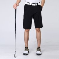 Wholesale Fashion Golf Shorts Men Sportswear Summer Top Quality Leisure Golf Shorts Knee Length Quick Drying Breathable Golf Shorts