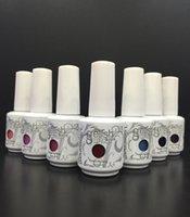 Wholesale ml New Arrival Harmony Gelish Soak Off UV Nail Gel Polish Fashion Colors Available gelish polish