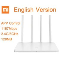 Wholesale Xiaomi Wireless Router wi fi Roteador Xiaomi WIFI Router ROM MB G GHz Mbps WiFi Repeater Dual Band