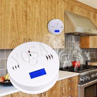 Wholesale Popular New Home Safety CO Carbon Monoxide Poisoning Smoke Gas Sensor Warning Alarm Detector Kitchen