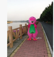 barney the dinosaur costume - 2016 adult size class Barney the dinosaur mascot nylon costumes for Halloween cartoon mascot costume and makeup