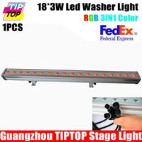auto manufacturers china - TIPTOP High Quality x3W RGB Led Wall Washer Light China Manufacturer Outdoor IP65 Stage Event Uplighting Red Green Blue LCD Display