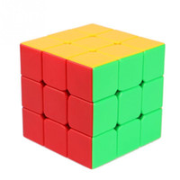 Wholesale Fashion x3x3 Ultra smooth Spring Speed Magic Cube Puzzle Toy Best Gift New
