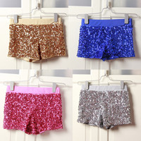 Wholesale European and American Fashion Shorts Package Buttocks Sequins Leggings