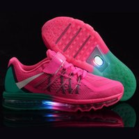 athletic shoe designer - Designer Luminous Kids Athletic Shoes Mesh Lighted Sneakers Childrens Running Shoes with Zoom Air for Boys and Girls L006