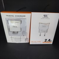 Cheap 2.4A Good Quality With CE FCC RoHS Wall Charger Dual USB port with LED Light in white