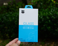 apple boxs - 300pcs Universal Colorful Paper Box Tempered Glass Screen Protector Retail Package Bags for Google Pixel for iphone plus Boxs