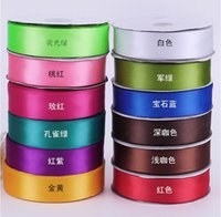 accessories textile gifts - width mm single sided ribbon bow hair yards diy hair accessories Ribbon accessories Wedding home textiles gift wrapping E86