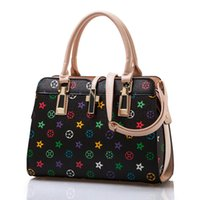motorcycle hard bags - 2016 new middle aged women bags fashion mother bag hand bag dual bone pattern Shoulder Messenger ladies bags