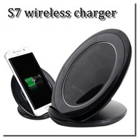 apple cooling pad - High quality fast chargering pad with build in cooling function Q1 wireless phone charger adapter for S7 S7 edge with retail box DHL free