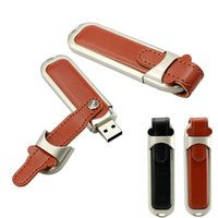 usb memory stick driver - Leather Black Brown USB Flash Driver Sticks Memory USB Real GB GB GB GB USB Flash Drivers
