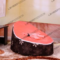 Wholesale 2013 Levoom Brand the gluing Fashion pieces set Velvet baby bean bag bed baby bean bag bed