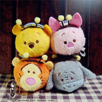 Wholesale Tsum tsum The bee series of winnie the pooh Tigger Too Piglet Eeyore holiday gift Plush toys screen widget