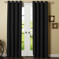 bedroom curtain rods - Home Textiles Thermal Insulated Blackout Panels Grommet Top Curtain Draperies Available for Shipment Exclusively within the U S