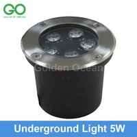 ac ground - LED Underground Lamps W V IP67 Buried Recessed LED Outdoor Ground Garden Path Floor Yard Lamp Landscape Light RGB Engineering Lights