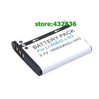 alkaline d battery - Accessories Parts Digital Batteries pcs1800mAh Li B Li B Li50B D LI92 Li ion Battery Charger For Olympus Pentax X70