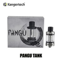 Cheap 100% Original Kangertech Pangu Tank 3.5ml Top Filling Juice flow control With disposable PGOCC Clean Hands Coil replacement system