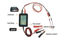 auto fuel tester - Hot Sale Fuel Injector Tester ADD260 power v Pulse ms working current MA Auto Diagnostic Tool