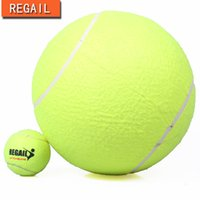 Wholesale quot Tennis Ball Signature Signal Pet Chews Toys Dogs Signature Tennis