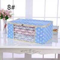 Wholesale Hot sale Clothes and quilts Storage bags Storage boxes Bag Organizer Non woven new arrival