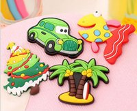 Wholesale Lovely Carton Animals Piece Magnetic Fridge Magnets Refrigerator Sticker Decoration Accessories Magnetic Paste Arts Crafts
