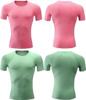 Wholesale Thailand tight shirt high quality sportswear