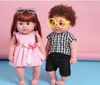 Wholesale Intelligent Simulation Baby doll Can Be Talked dolls Domestic soft body baby early education toys for children