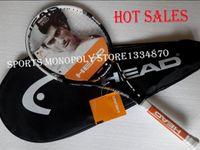 Wholesale New Genuine YouTek IG Speed Pro MP300 new carbon tennis rackets Head Djokovic Racket string grip size
