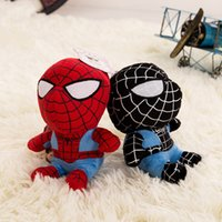 anime mini figure girl - 2 Colors Newest Cartoon Anime League of Heroes Action Figures Mini Spider Man Toy Spiderman Plush Doll Birthday Gift