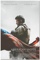 american fashion history - New American Sniper Bradley Cooper History Movie Silk Poster x36 inch