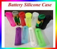Wholesale Silicone Case for Battery Silicone Case Mix Colors Replaceable dual Battery Cover Rubber Skin Protector Fit Batter