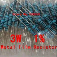 Wholesale-10PCS 3W Resistencia Metal Film + -1% 3W 1,8 ohmios 1R8 envío gratuito