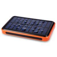 Wholesale 8000mah Waterproof solar charger Universal power bank dual usb externl battery