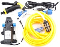 air water sprayer - 80W V DC Washer Water Pump High Pressure Kit Marine Deck Car Campervan Sprayer