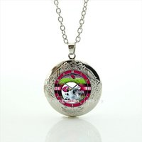arizona gifts - New fashion cute clock and helmet locket necklace Arizona Cardinals team Newest mix sport jewelry gift for sport lovers NF159