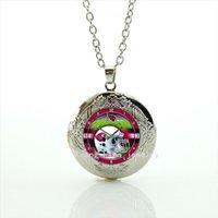 arizona jewelry - New fashion cute clock and helmet locket necklace Arizona Cardinals team Newest mix sport jewelry gift for sport lovers NF159