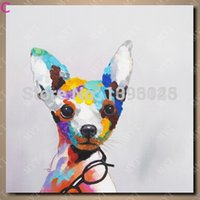 bedroom decor images - piece canvas wall art painting for bedroom wall decor cheap price pop art dog images modern dog painting