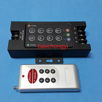 Wholesale DC12V V w w A Iron shell Wireless RF Remote RGB Controller LED Dimmer for LED Strip