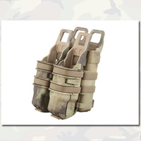 Wholesale Fastmag Rifle Pistol Magazine Pouch Combat Mag Pouch EMERSON Gear Nylon Tactical Military Army Pouches AT EM6349