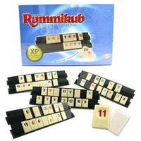 Wholesale Rummikub One Piece Tile Racks and Brightly Colored Easy to read Number Tiles NEW