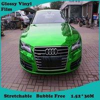 car window tint film - Big promotion Green Film Car Vinyl Tint Headlamp Wrap Sticker foil Tint Film Sticker Premium Glossy wrap