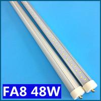 Wholesale FA8 LED Tube T8 PIN single pin W FT M feet LED fluorescent tube AC V LM