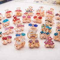 adorn diamond designs - Han edition small catch small adorn article With diamond design paw bang clip to yiwu more hair accessories stalls