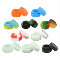 Wholesale Cheap Jars Containers - Cheap Wax Jar Silicon Wax Jar Silicon Container NO Stick Silicon Container For Wax Bho Oil Butane Vaporizer Dry Herb Vaporizer Wax Vaporizer