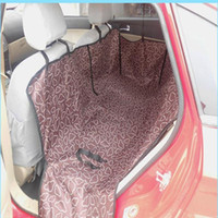 auto pet mat - 2016 Car Interior Accessories Pet Dog Back Seat Car Auto Waterproof Seat Cover Mat