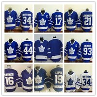 Wholesale 2016 Toronto Maple Leafs Royal Home Premier Jersey Auston Matthews Mitch Marner Wendel Clark James Van Riemsdyk Rielly