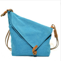 Wholesale Leisure canvas shoulder bags patchwork with leather cross body bags men and women outdoor bags hotsale in Japan J700012