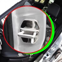 benz sl - New and High quality Stainless Steel Car Door Lock Protection Cover For Benz CLA GLA GLC GLK GLE A B C E S SL set