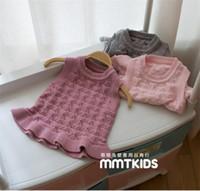 american lighting sweaters - new children baby girl sweaten vest dress fashion kids sweater dress vest dress clothing YN67